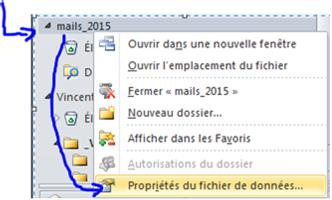 partage calendrier outlook 2010